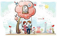 Картина по номерам Счастливы вместе КНО2631