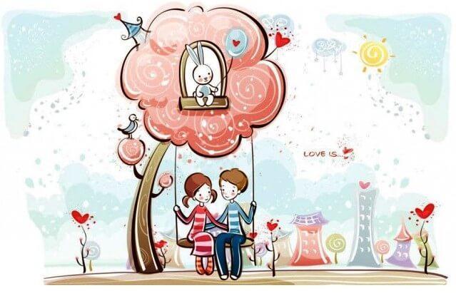 Картина по номерам Счастливы вместе КНО2631 Идейка