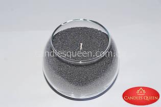 Стеарин цвет серый темный 500 г Для насыпных свечей и литых