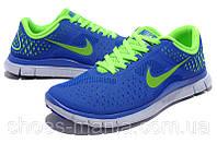 Женские кроссовки  Nike Free 4.0 синие