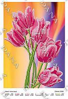 Схема для вышивания бисером DANA Нежные тюльпаны 2206