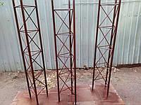 Усиленная мачта антенная секционная трехгранная сварная (мачтовые сооружения)