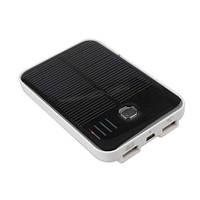 Универсальное зарядное солнечная батарея 5000mAh