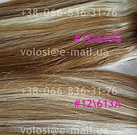 Натуральные волосы на заколочках, фото 1