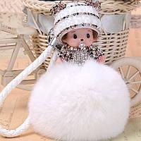 Брелок кукла Monchichi 12 см, фото 1