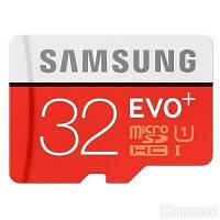 Карта памяти Samsung 32 GB microSDHC Class 10 UHS-I EVO Plus + SD Adapter MB-MC32DA