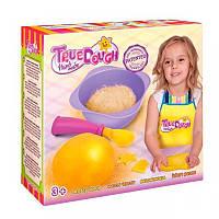 Тесто для лепки натуральное желтое+аксессуары