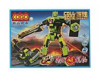 """Конструктор  """"Робот -трансформер"""" (салатовый) R82"""