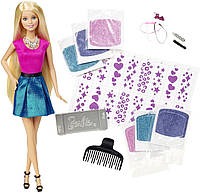 Barbie Дизайнер причесок Сияющие волосы Glitter Hair Design