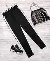 Женские шелковые спортивные штаны (черный) Love KAN № 0111
