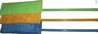 Швабра для ламината TANGO BCK (микрофибра плоская) Кий цельный