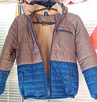 Детские осенние куртки для мальчиков 7-11 лет,цвета разные,опт и розница S497