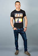 Мужская футболка (черная №29)