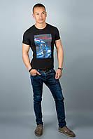 Мужская футболка (черная№32)