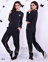 Спортивный костюм черный на змейках