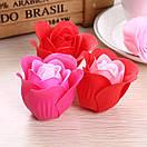 Мыло в форме бутона розы (подарочный набор), фото 3