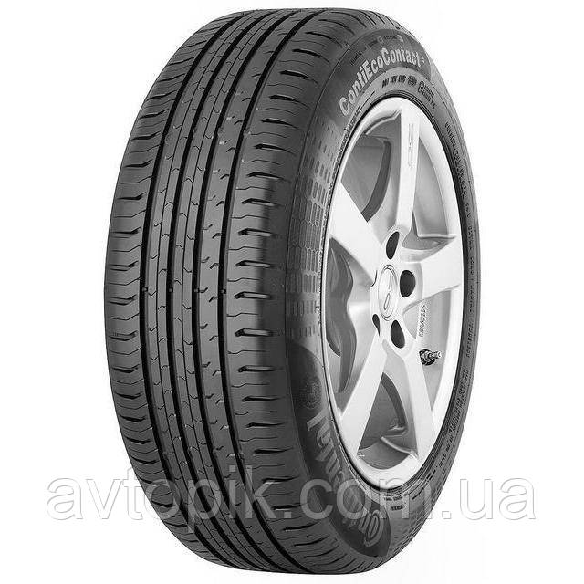 Летние шины Continental ContiEcoContact 5 185/60 R15 88H XL
