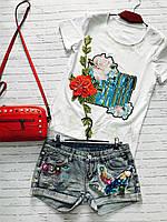 Женские джинсовые шорты Love KAN № 0112