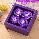 Мило у формі бутона троянди (подарунковий набір), фото 2