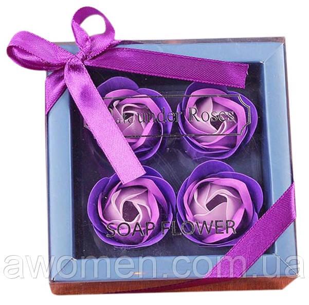 Мило у формі бутона троянди (подарунковий набір)