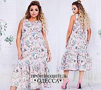 Женское платье на лето в расцветках БАТ 302 (739)