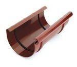 Соединитель желоба водосточной системы Марлей (Marley) СONTINENTAL 125 мм коричневый