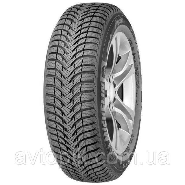 Зимние шины Michelin Alpin A4 185/55 R15 82T