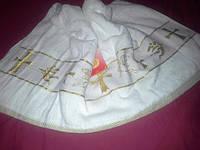 Полотенце детское  махровое для крещения малышей