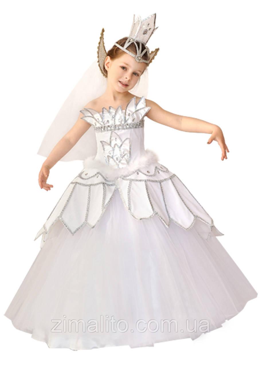 Принцесса-Лебедь карнавальный костюм детский