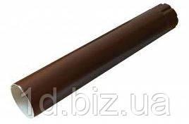 Труба водосточная водосточной системы Марлей (Marley) СONTINENTAL 105 мм коричневый