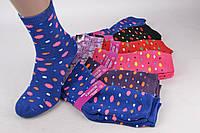 Носки женские махровые хлопковые  (YBJ002/360)   360 пар