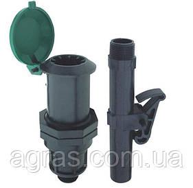 Водоразборная колонка с ключем (гидрант) для дополнительного полива Irritec (Италия)