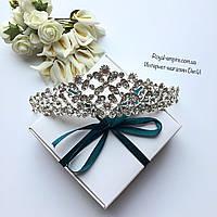 """Шикарная диадема """"Ямина"""" для невесты и на выпускной."""