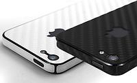 Карбоновая пленка для iPhone 5 5S SE