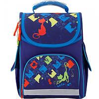 Рюкзак школьный каркасный Gopack GO17-5001S-1