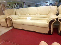 Комплект диван+2 кресла в натуральной коже пр-во Италия. Возможно изготовление под заказ.