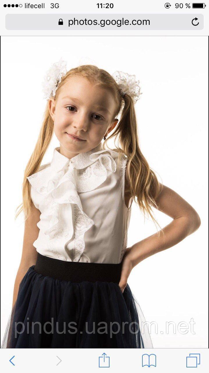 e83ea54c9df Красивая школьная блузка для девочки