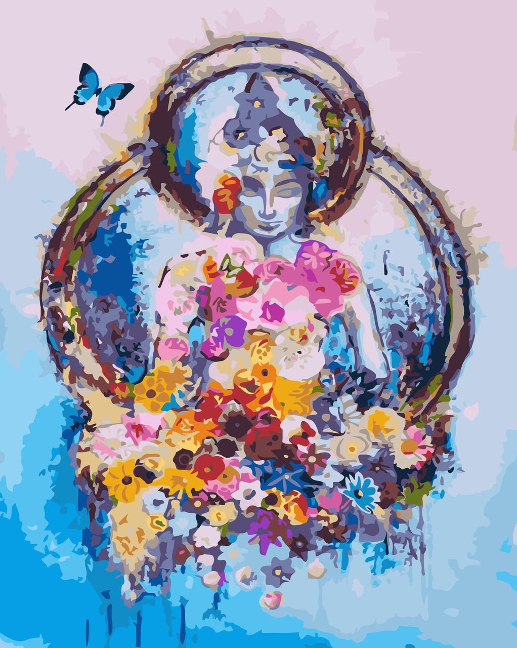 Картина-раскраска Созерцание (KH5001) Идейка 40 х 50 см