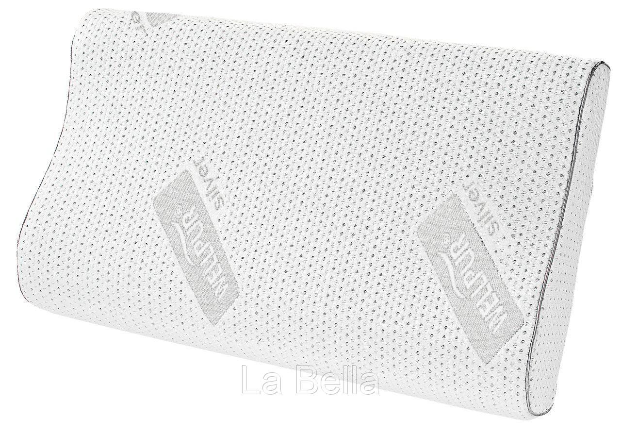 Подушка  ортопедическая WELLPUR STR 36x60x11/9см
