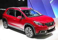 Силовые обвесы Peugeot 2008 с 2013 г., кенгурятники и пороги