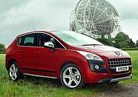 Силовые обвесы Peugeot 3008 с 2008-2016 г., кенгурятники и пороги