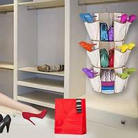 Система хранения одежды и обуви Smart Carousel Organizer на 3 ряда