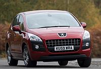 Силовые обвесы Peugeot 5008 с 2009 г., кенгурятники и пороги