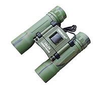 Бинокль 10х25 Tasco зеленый