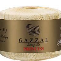 Пряжа GAZZAL Princess 3001 Шелковая Пряжа для ручного Вязания