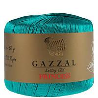 Пряжа GAZZAL Princess 3007 Шелковая Пряжа для ручного Вязания