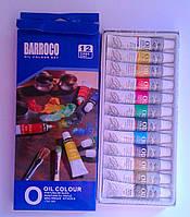 Масляные краски 12 цв. В тубах EN71-3 12 мл 8-161 76083 Китай