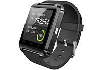Смарт Умные часы Smart watch U8 Uwatch black черные