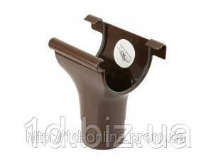 Воронка водосточной системы Марлей (Marley) СONTINENTAL 75 мм коричневый