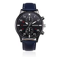 """Мужские наручные часы """"Migeer"""" синие"""